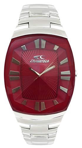 Chronotech orologio analogico quarzo donna con cinturino in acciaio inox ct7065l-27m