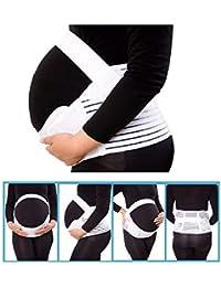 Voken Fascia Gravidanza Sostegno Addominale Traspirante Elastica, Cintura maternità Regolabile