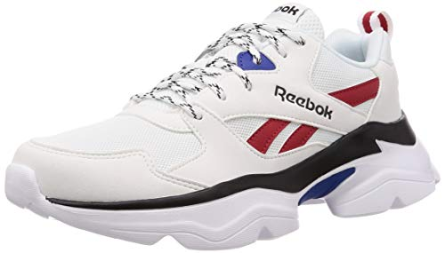 Reebok Royal Bridge 3, Scarpe Running Unisex-Adulto, Multicolore (White/Team Dr RYL/Red/Black 000), 41 EU