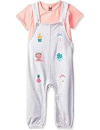 MINI KLUB Baby Girls' Regular Fit Clothing Set (Pack of 2)