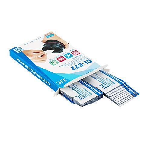Reinigungstücher-pack (JJC Mikrofaser-Reinigungstücher - 22er-Pack für Kameras, Objektive, Filter, Sonnenbrillen, Mobiltelefone, Tablet-Bildschirme usw. Reinigung Empfindlicher Oberflächen)