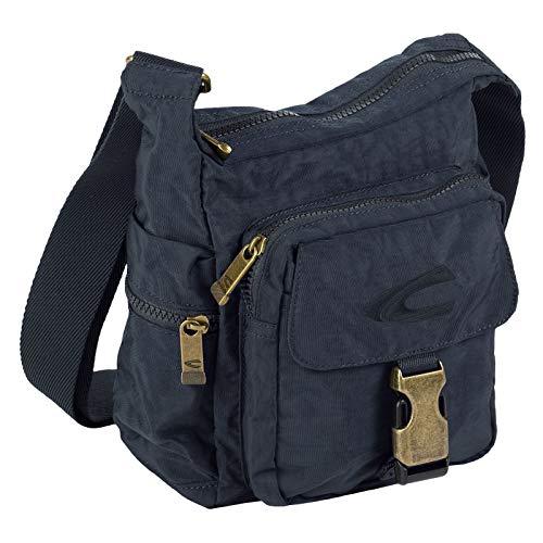 camel active Journey Umhängetasche, 23 cm, Dunkelblau - Blaue Damen Messenger Bag