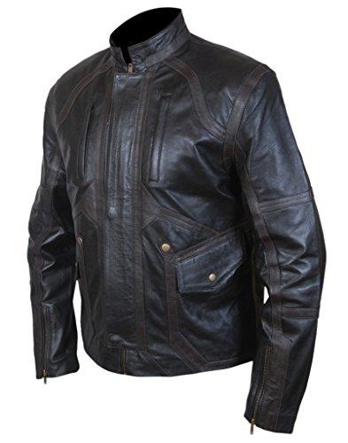 F&H Men's Sebastian Stan Bucky Barnes Jacket Black