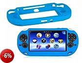 SODIAL(R) Custodia protettiva in silicone per Sony PlayStation PS Vita PSV
