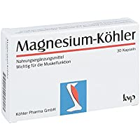 MAGNESIUM KÖHLER Kapseln 30 St Kapseln preisvergleich bei billige-tabletten.eu