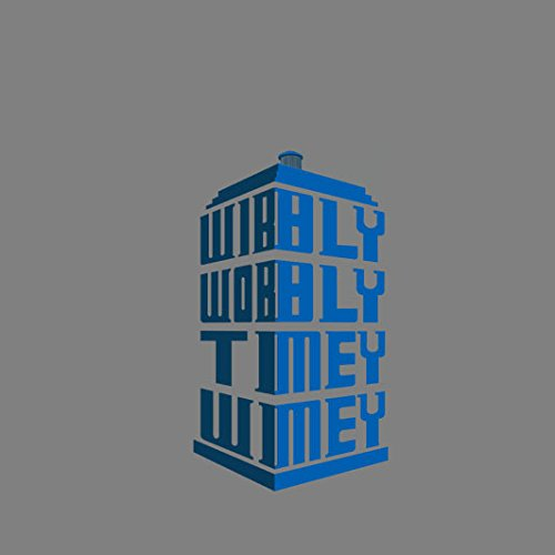 Wibbly Traballante Timey Wimey - Stofftasche / Beutel Rot