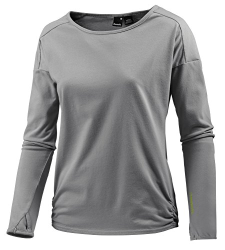 Bench Sport Damen Langarmshirt grau L