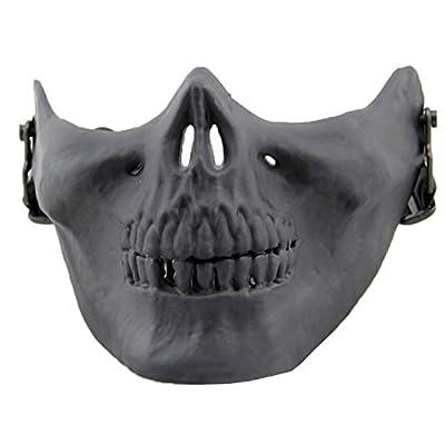 Neue Geister Sturmhauben Motorrad Radfahren Cosply Kostüm Schädel Skelett Maske von Codxer bei Outdoor Shop