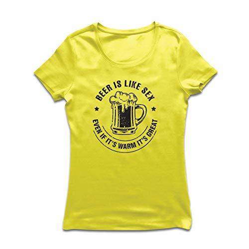 irt Lustige Bierbrau-Zitate, Party-Liebhaber-Geschenk, Bierfest (Large Gelb Mehrfarben) ()