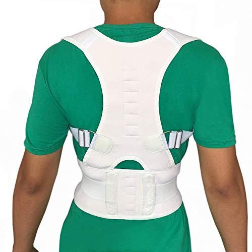 WYUKN Corrector De Postura Corrector De Apoyo Espinal para Hombres O Mujeres Alivio del Dolor De Espalda Hombro Y Cuello Corrector De Postura