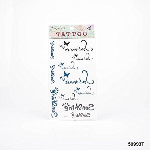 Tatuaggi scritta sunshine e soul mate