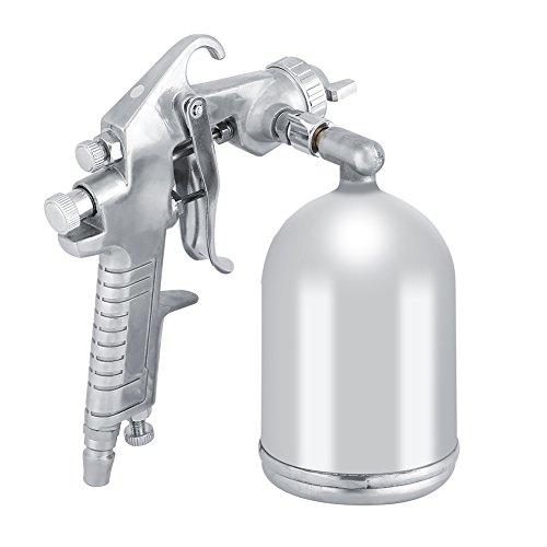 Fdit 1,5mm Düsenpistole Tragbare Hand 400CC Unteren Cup Fütterung Modus Air Paint Sprayer Pneumatische Werkzeug (Pneumatische Spritze)