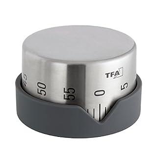 TFA 38.1027.10 Dot – Temporizador de cocina, color gris