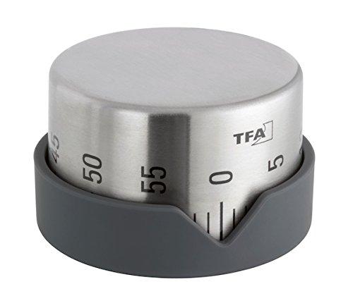 TFA Dostmann Küchentimer Dot 38.1027.10, anthrazit