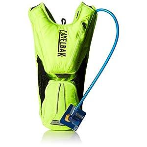 CamelBak - Mochila de hidratación para running o ciclismo, color Verde, 40 x 26 x 15 cm