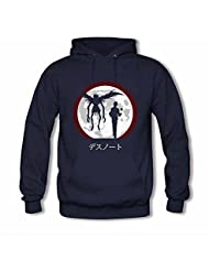 Death Note Ryuuku and Light Yagami Long Sleeves Cotton Pullover Hoodie for Womens