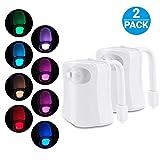2 Pc Lampe Toilette Veilleuse LED Mouvement...