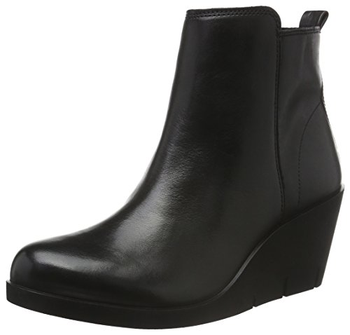 Ecco Bella Wedge, Stivaletti Donna, Nero (BLACK1001), 39 EU
