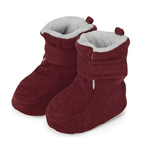 Sterntaler Mädchen Baby-Schuh Stiefel, Rot (Dunkelrot Mel. 890), 18 EU
