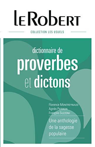 Dictionnaire des proverbes et dictons - Grand format