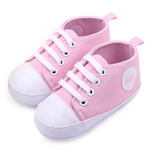 Etosell Nouveau-Ne Garcon Fille Sneaker 0-12mois A79 Rose