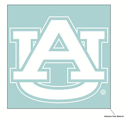 Wincraft NCAA Auburn University Tigers, 15,2 x 15,2 cm, Weiß University Tigers
