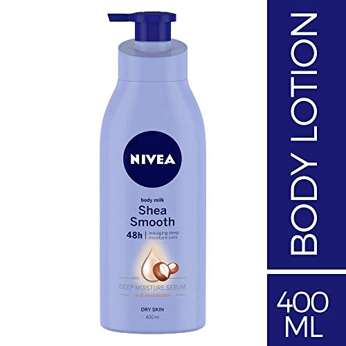 Nivea Smooth Milk Body Lotion for Dry Skin, 400ml