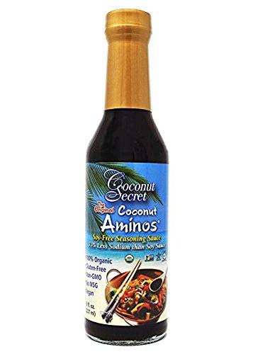Coconut Secret Coconut Aminos Soy-Free Seasoning Sauce -- 8 fl oz by Coconut Secret width=