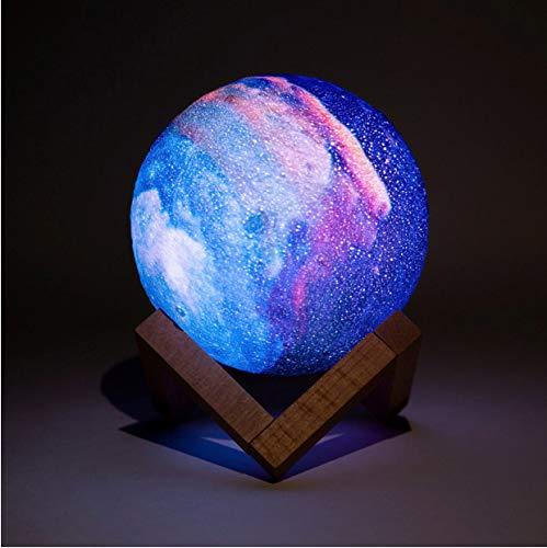 Taiξn Tai & Xin 3D-Nachtlicht-Serie Galaxy Nachtlicht Nach Hause Schlafzimmer Nachtlicht Wie Mondlicht Als Kindergeschenk -