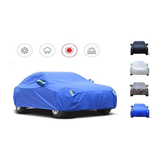 YXMY Kompatibel mit der Autoabdeckung Audi TT Coupé, der Motorhaube mit Baumwollsamtfutter, dem Allwetter-Innen- und Außenschutz Autoplanen (Color : C, Size : 2004)