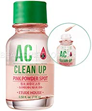 Veena Etude House Ac Clean Up Pink Powder Spot 15Ml Soothing Spot Treatment