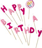 Disney Princess Happy Birthday Kerzen, Zahnstocher