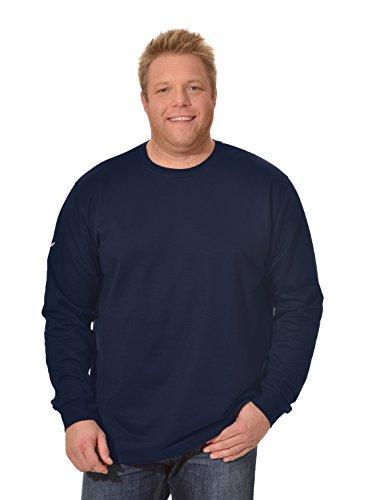 Trigema Herren Sweatshirt Herren Sweatshirt Blau (navy 046)