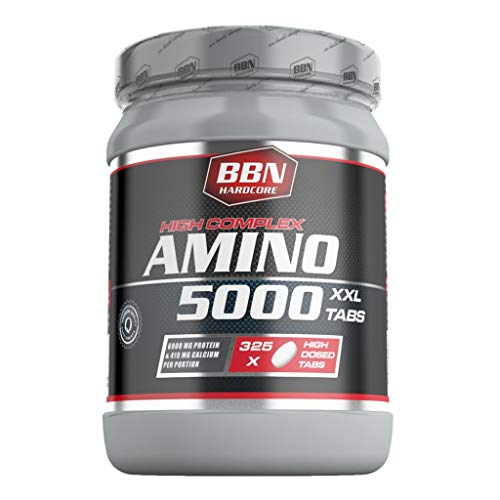 Best Body Nutrition Hardcore Amino 5000, 325 Tabletten (3er Pack)