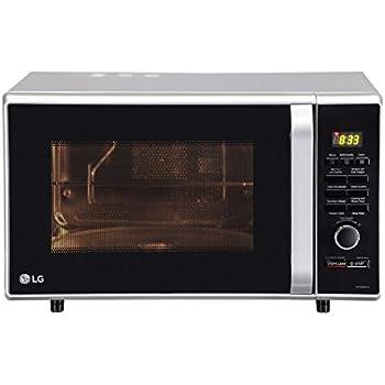 Lg 28 L Convection Microwave Oven Mc2886sfu Silver