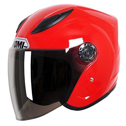 Motorradhelm Elektrische Autos Männliche Und Weibliche Helm Sommer Halbhelm UV-proof ( Farbe : #4 )