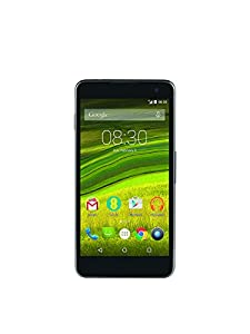 EE Pay As You Go Harrier 16 GB Smartphone - Black (Includes GBP10 Pre Loaded Credit, Unlimited Texts, 150 Minutes, 500 MB Data)