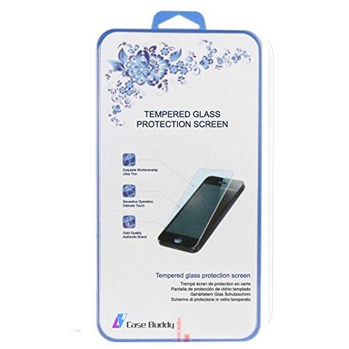 Case Buddy TM Trasparente Custodia Cover Gel E Pellicola Proteggi Schermo, Per IPhone 5 5S Tempered Glass Screen Protector Only