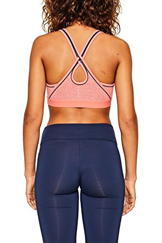 ESPRIT Sports Damen Sport-BH E-Dry Bra Top Orange (Salmon 2 861)