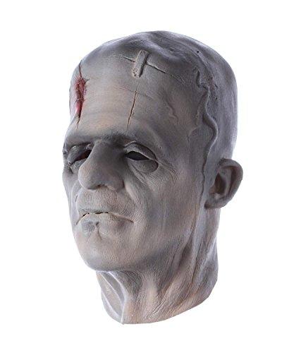 Greyland Halloween Maske Frankenstein Faschingsmaske Latexmaske Schaumlatexmaske