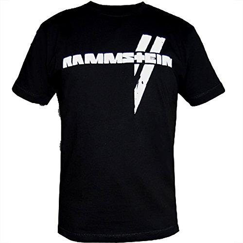 Rammstein Rammstein, T-Shirt Wei§e Balken-M