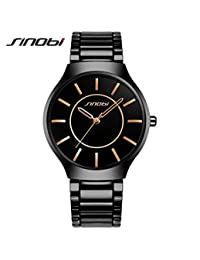 OGYA SINOBI Wrist Watch Men Watch Waterproof Full Steel Watches Fashion Men's Watch
