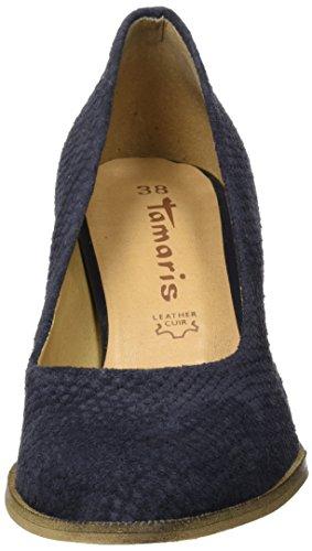 Tamaris 22439, Scarpe con Tacco Donna Blu (Navy Structure 855)