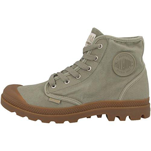 Palladium Pampa Hi, Sneaker a Collo Alto Uomo vetiver-mid gum (02352-344)