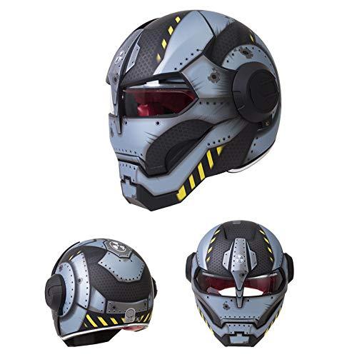 You will think of me Helmetnew Black Star Wars Man Helmet Motorcycle Helmet Half Open Face Helmet Abs Motocross,12,M