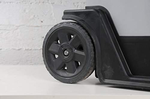 Stanley Fatmax 1-95-622 Rollende Werkstatt Metall-Kunststoff mit Rädern, abnehmbarer Werkzeugbox und herausnehmbarer Trage, 57 x 90 x 39cm - 6