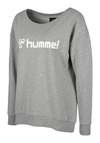 Hummel Damen Classic Bee Sweatshirt Grey Melange