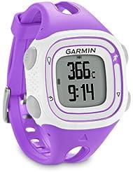 Garmin Forerunner 10 – Montre de running avec GPS intégré – Violet/Blanc