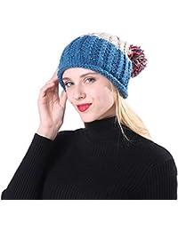 Amazon.es  gorros de lana con pompon - Incluir no disponibles ... 144a853c4b5