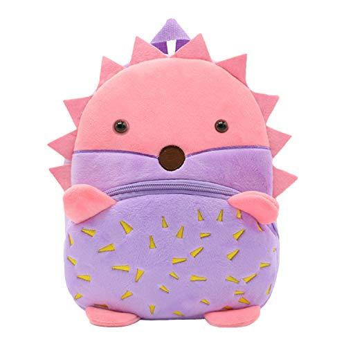 YUAND 2 4 Alter Niedlichen Tier Form Kleinkind Rucksack Kindergarten Tasche Rucksack Kindergarten Daypack Schulranzen, Igel